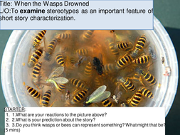 Short Story: When the Wasps Drowned