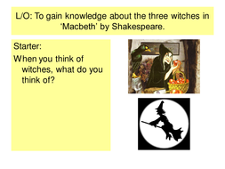 Macbeth--Introducing the Three Witches