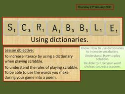 Scrabble Lesson