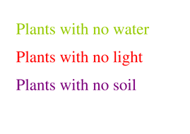 Plants with no water.doc