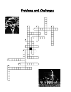 Problems and Challenges Crossword