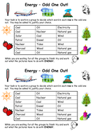 Energy odd one out