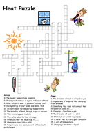 Heat transfer crossword puzzle