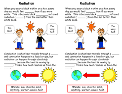 Radiation worksheet