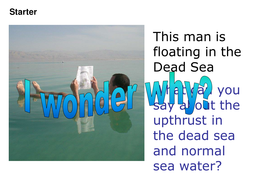 Salty water investigation