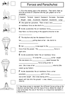 Forces and parachutes