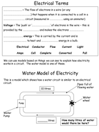 water model low.ppt
