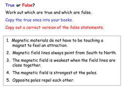 magnets true and false.ppt