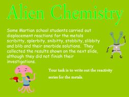 Martian chemistry