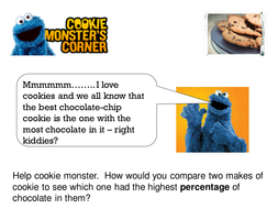 The extraction of chocolate from cookies