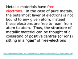 metallic structure.ppt