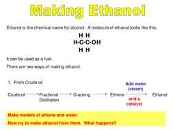 Making ethanol