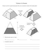 Pyramids and Frustums