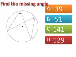Circle Theorems starter