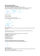 Basic Constructions in Geometry
