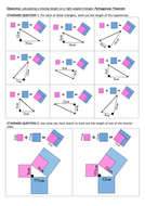 Pythagorean Theorem Objective worksheet.doc