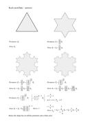 Koch snowflake worksheet - answers.doc