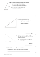 Test Questions – Pythagoras