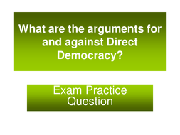 Advantages and disadvantages of direct democracy