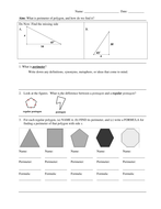 Perimeter, Area, Volume, and Error