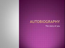 AUTOBIOGRAPHY Power Point Presentation.pptx