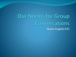 Group norms for conversations.ppt