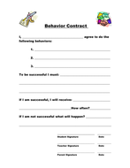 Behavior Contract.doc