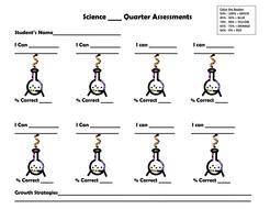 Science Data Sheet