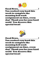 weekly bellwork reward.doc