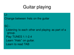 Guitar playing Halo (2).ppt