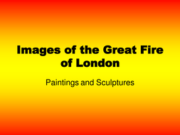 Great Fire of London - paintings and sculpture