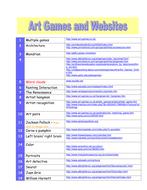 Online Art Games