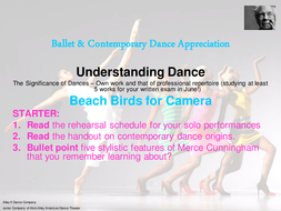 Ballet_Contemporary_Theory_6_-_Intro_to_Beach_Birds_for_Camera.ppt