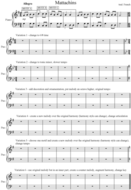 Theme & Variations handout