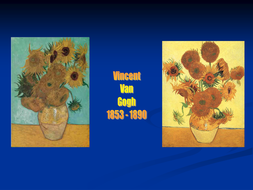 Van Gogh PowerPoint and handouts