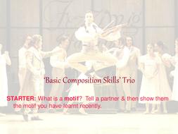 Dance Basic Composition Skills Scheme of Work