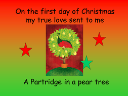 '12 Days of Christmas' PowerPoint