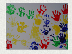 printing...with hands, fingers and feet.ppt