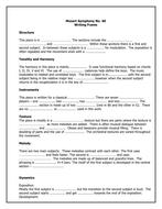 Mozart Symphony Writing Frame[1].doc
