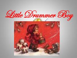 'Little Drummer Boy' PowerPoint lyrics