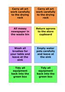 Jobs Cards - Behaviour / Classroom management idea