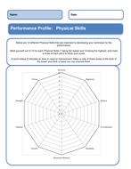 Dance Physical Skills Progress Tracker