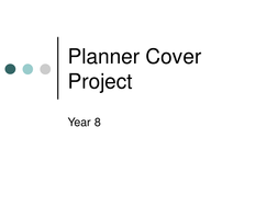 Planner Cover Project.ppt