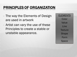 Principles of Organization. Visual Communication