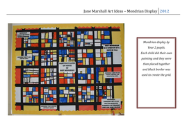 Mondrian Display.doc