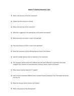 Mahler 4th Symphony Movement 1 Quiz[1].doc