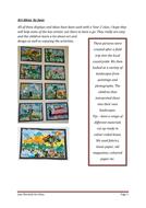 Art lesson ideas
