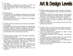 Art level descriptors
