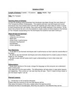 Scheme of Work - The Tempest