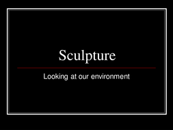 1._sculptors_and_others_work_to_improve_the_quality_of_an_environment.ppt